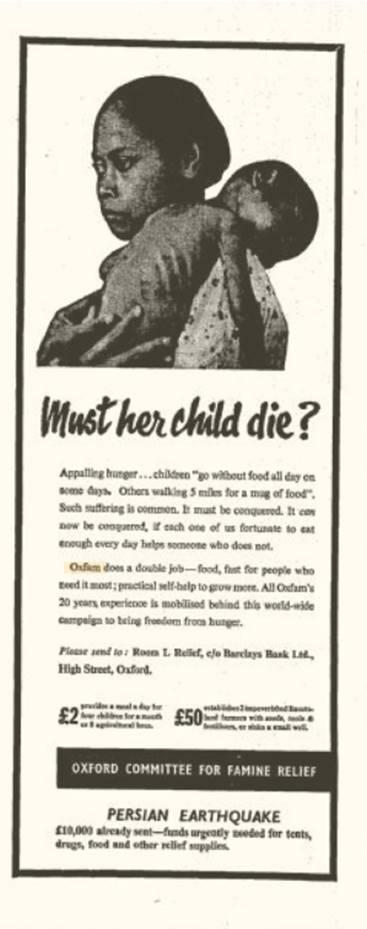 Oxfam 1962