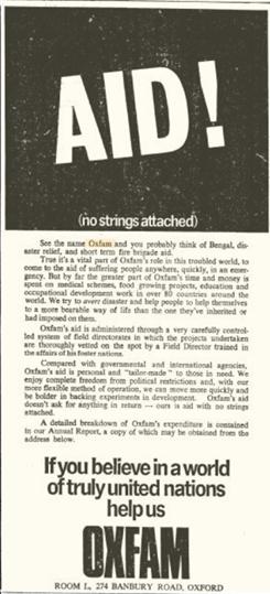 oxfam 1970